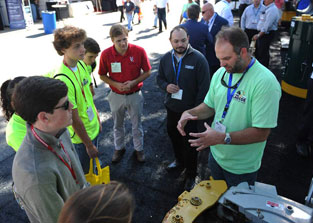 LAGCOE Future Energy Professionals Program Will Provide Students with Knowledge of STEM Fields at LAGCOE 2015 photo
