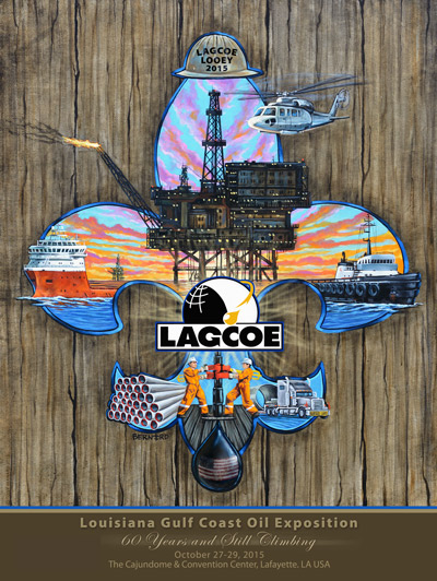 2015 LAGCOE poster art unveiled photo