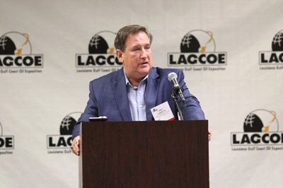 Longtime oil exec urges industry to plan for recovery at Louisiana expo photo