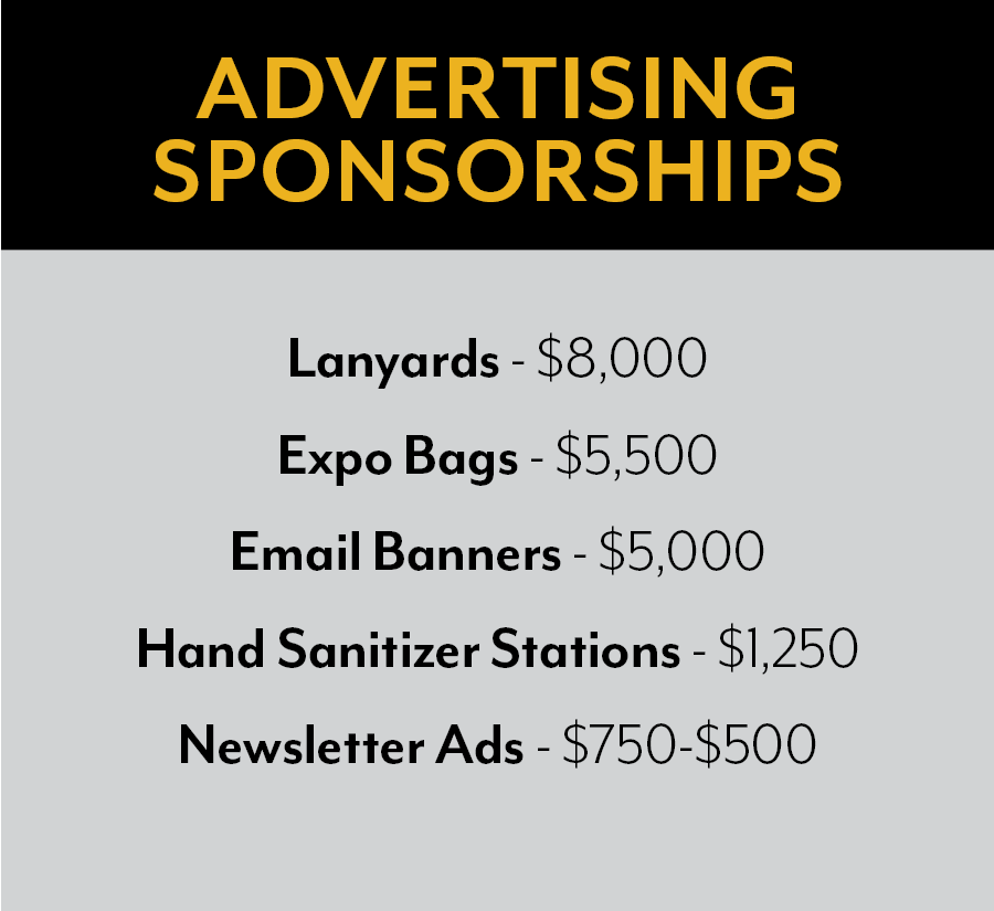 Advertise Sponsorships