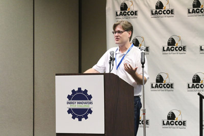 Investors Pitch their Energy Industry Ideas, Seeking Investors and Prize Money, at LAGCOE in Lafayette photo